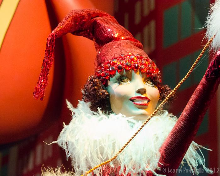 NYC Macy's Balloon Girl