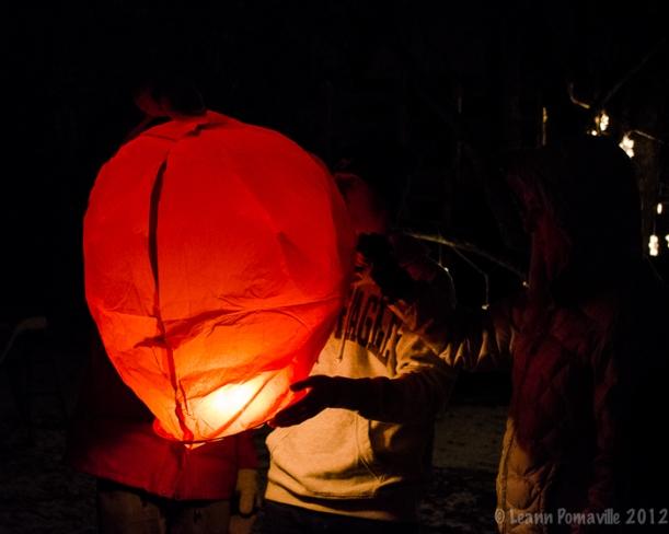Christmas Chinese Lantern